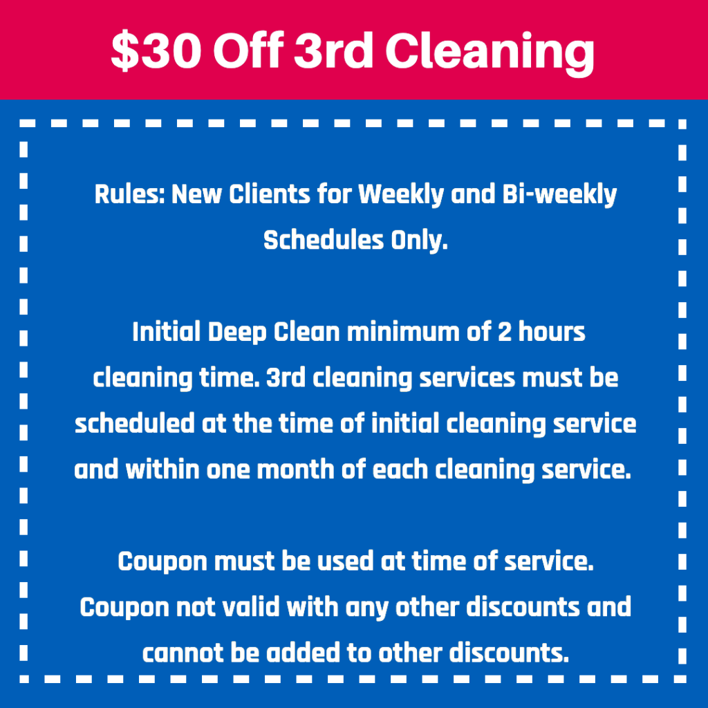 cleaning coupon Mrs. Clean Pittsburgh