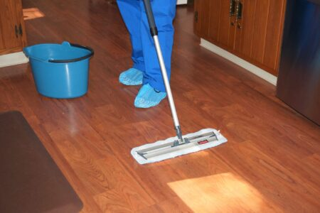 Mrs Clean Pittsburgh - Cleaning Floor Mopping